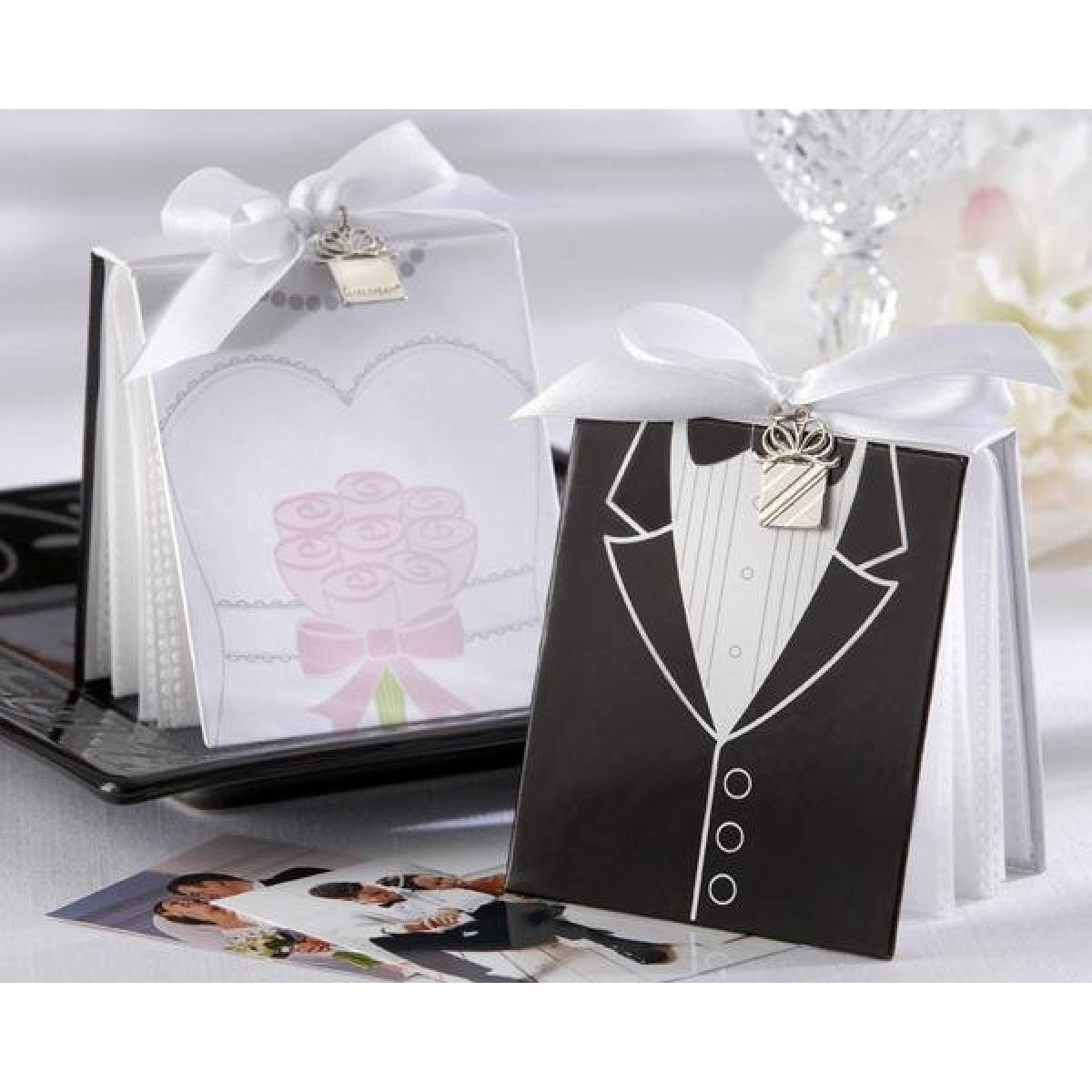 Wedding Gifts For Bride And Groom In Singapore : Bride and Groom Photo Album Favors