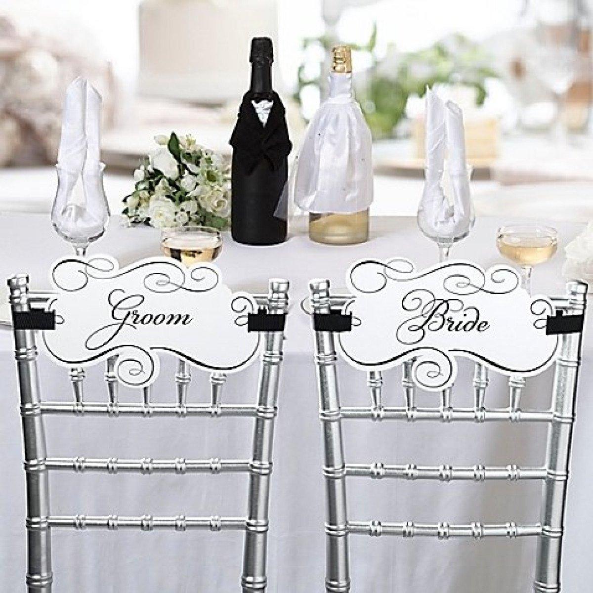 showroom bride groom chairs