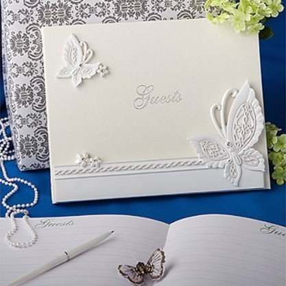 Butterfly Design Guestbook