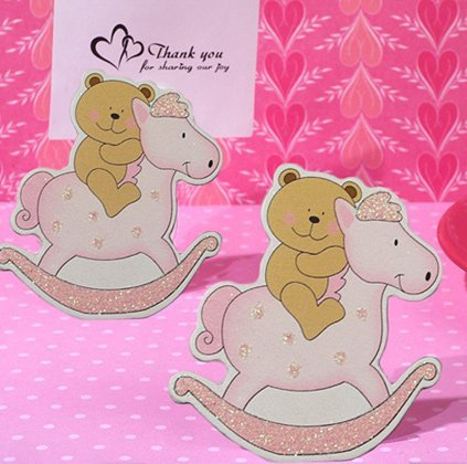 Adorable Teddy Bear on Horse Favors
