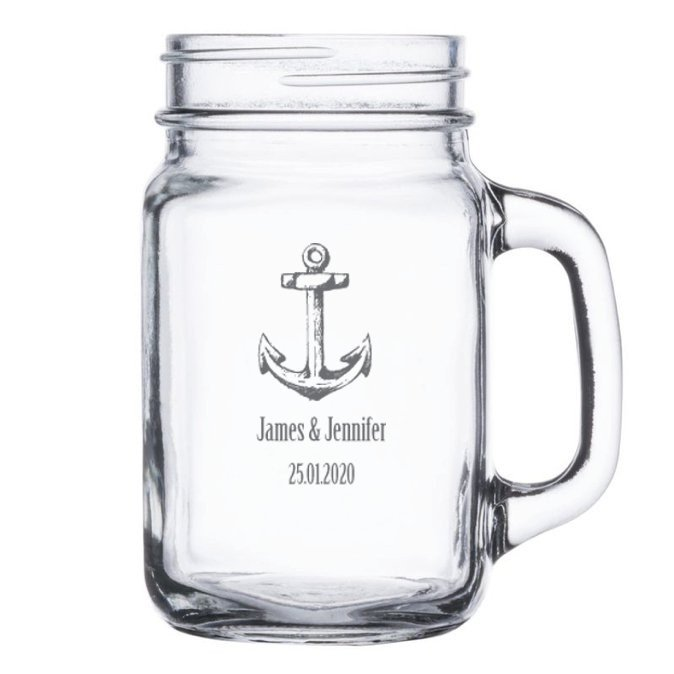 Anchor Rustic Mason Jar