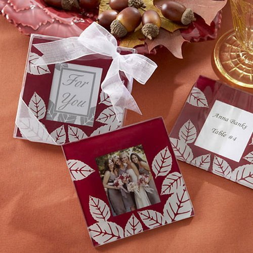 Autumn Coasters Favors