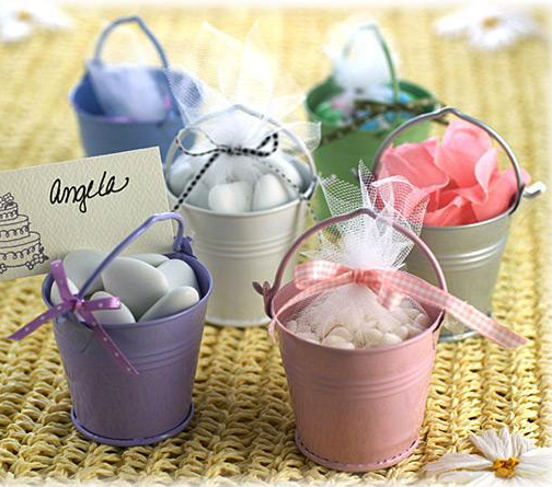 Beach Pail Favors