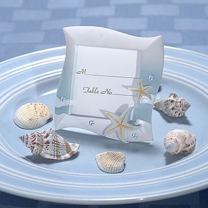 Beach Theme Place Card Frames Favors