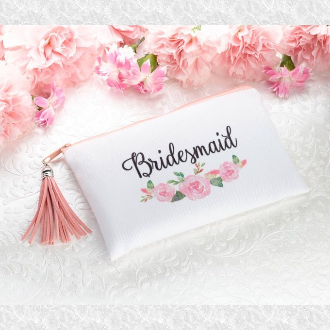 Floral Bridesmaid Survival Bag