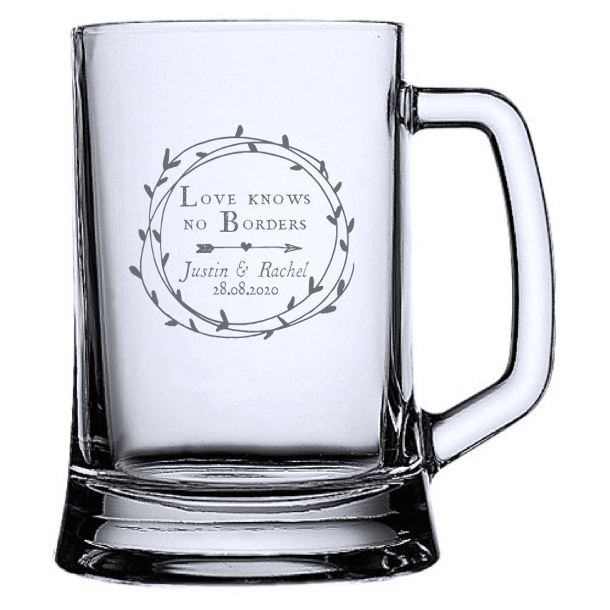 Cupid's Wreath Beer Mug