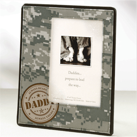 Daddy Military Frame