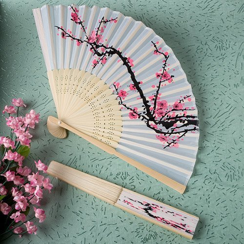 Delicate Cherry Blossom Fans