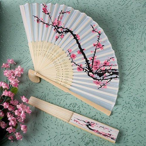 Delicate Cherry Blossom Fans