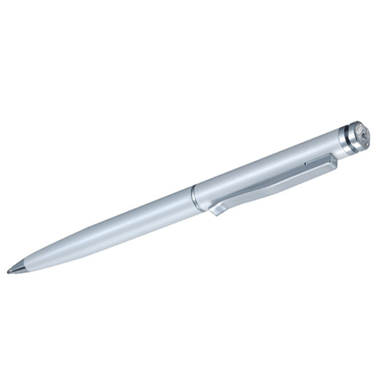 DSE Elegant Pen with Swarovski Crystal - White