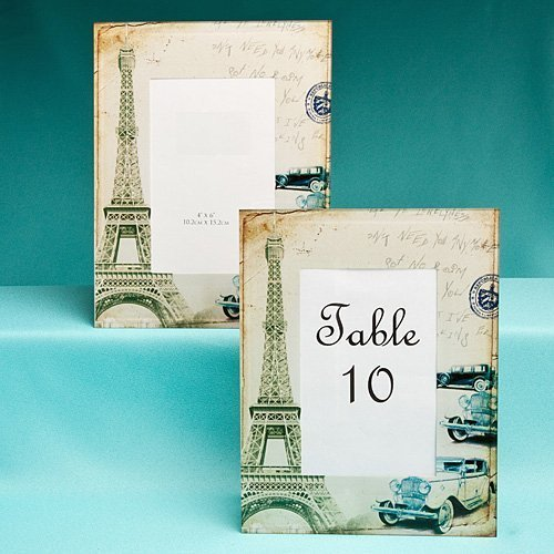 Eiffel Tower Glass Frames