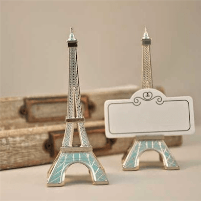 Eiffel Towel Place Card Holder Favors