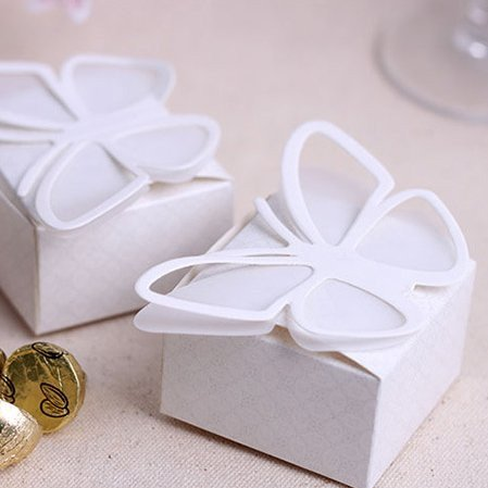 Elegant Butterfly Favor Box
