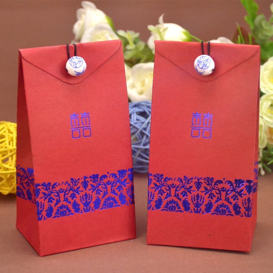 Grand Double Happiness DIY box favors