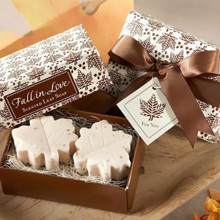 Fall in Love Soap Favors