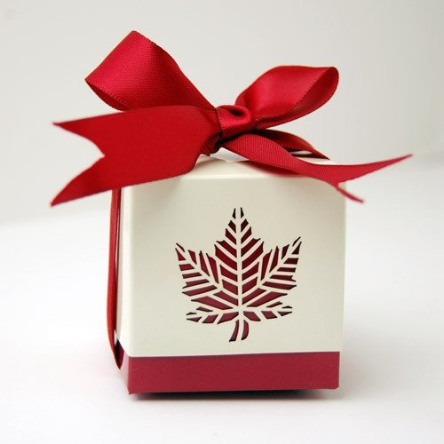 Fall Leaf Favor Box