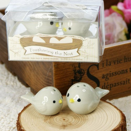 Feathering the Nest Salt and Pepper Shakers