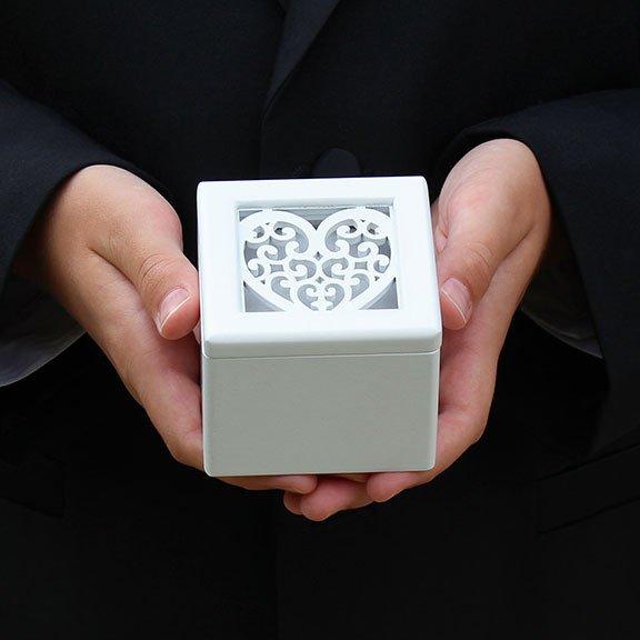 Filigree Heart Ring Box