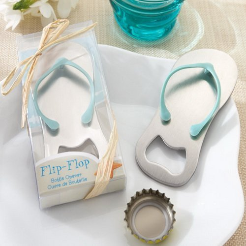 Flip Flop Bottle Openers Blue