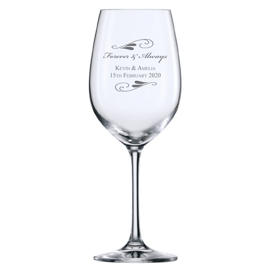 Flourish Wine Glass