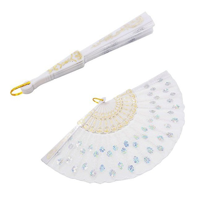 Glitz in Sequins Fan Favors