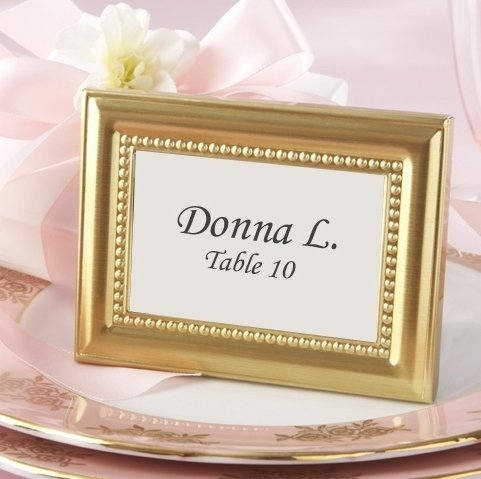 Gold Frames Favors