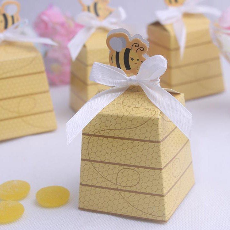 Honey Bee DIY Favor Box