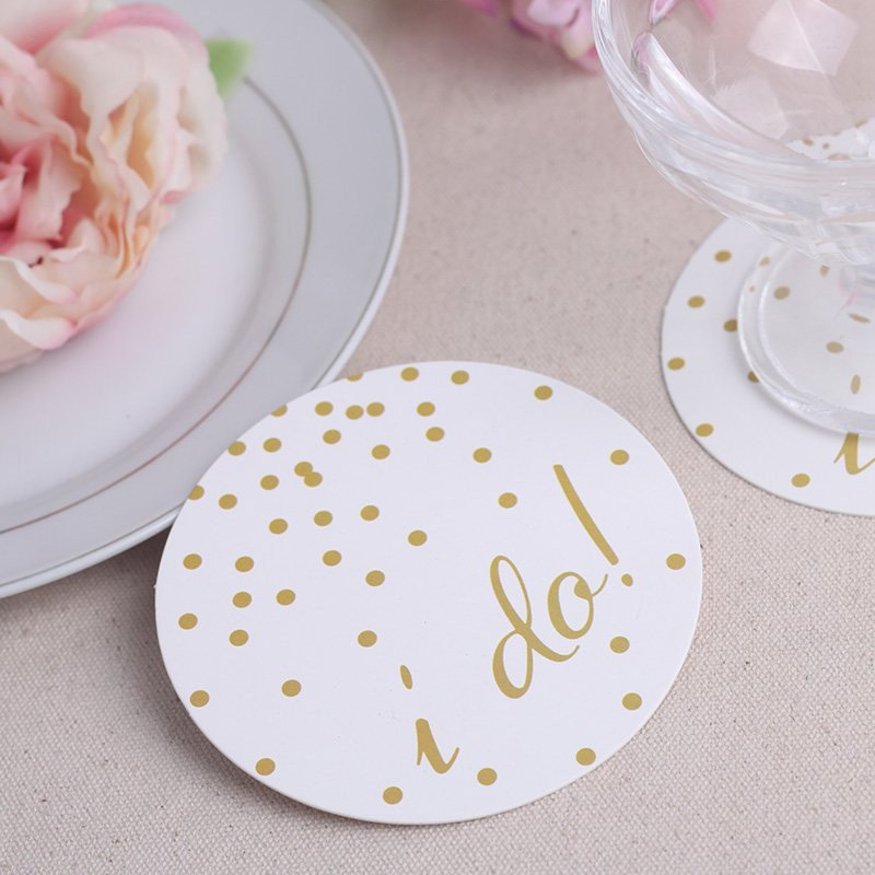 I do! Paper Coasters - set of 12
