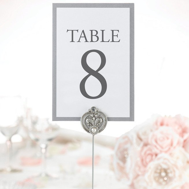 Jewelled Table Markers