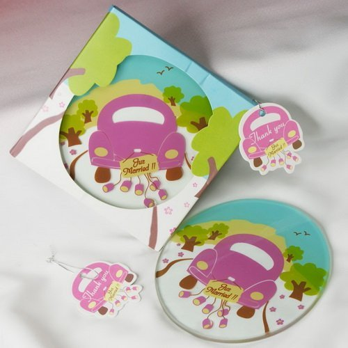 Juz Married Coasters - set of 1
