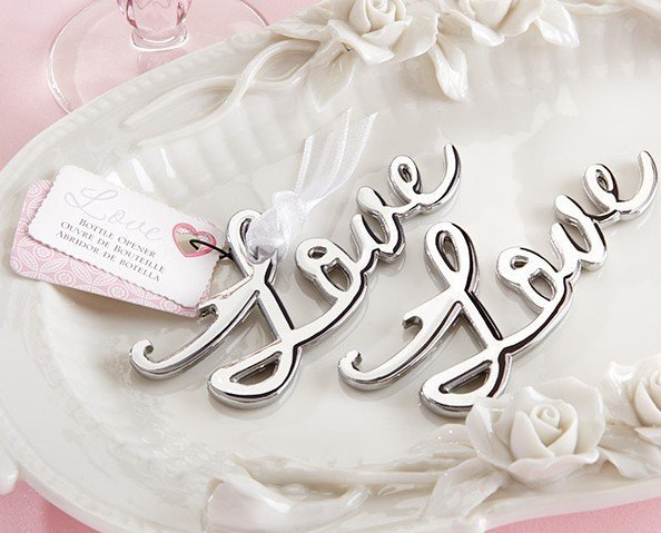 Love Bottle Openers - Silver