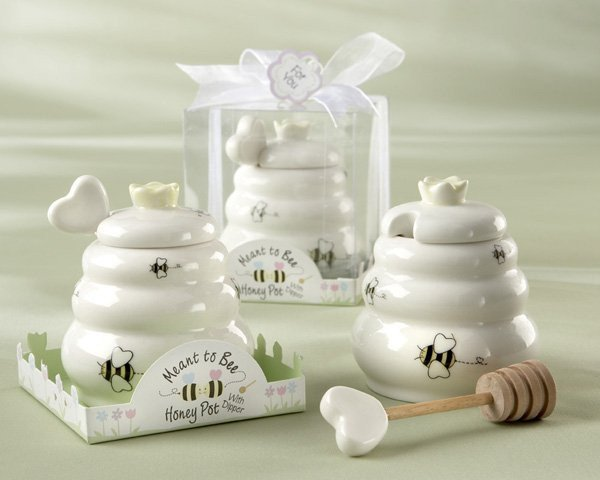Meant to Bee Honey Pot Favors