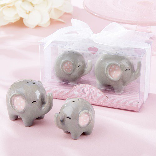 Mommy and Me Elephant Salt & Pepper Shakers
