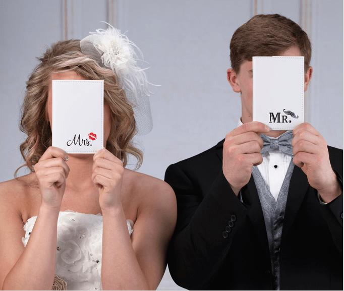 Mr. & Mrs. Passport Covers