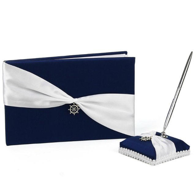 Nautical Guestbook & Pen Set