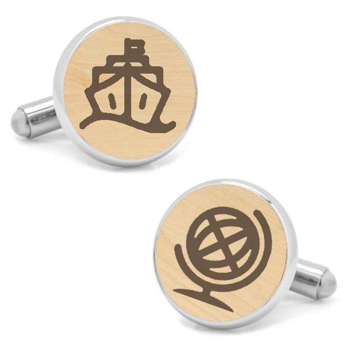 Nautical Themed Cufflinks
