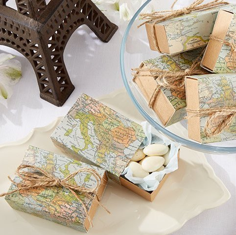 Old World DIY Box Favors