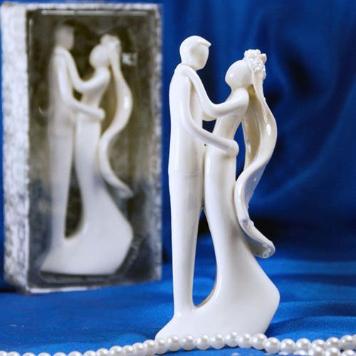 Porcelain Couple Cake Decor