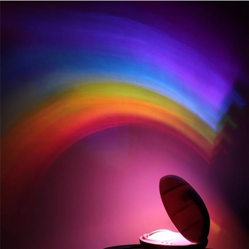 Rainbow Projector Lamp Light