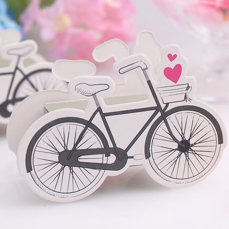 Romantic Bicycle Favor Box