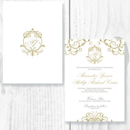 Royal Theme Invite
