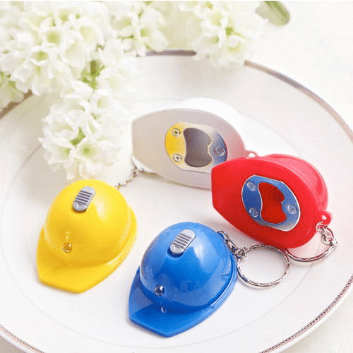 Safety Helmet Keychain Favors
