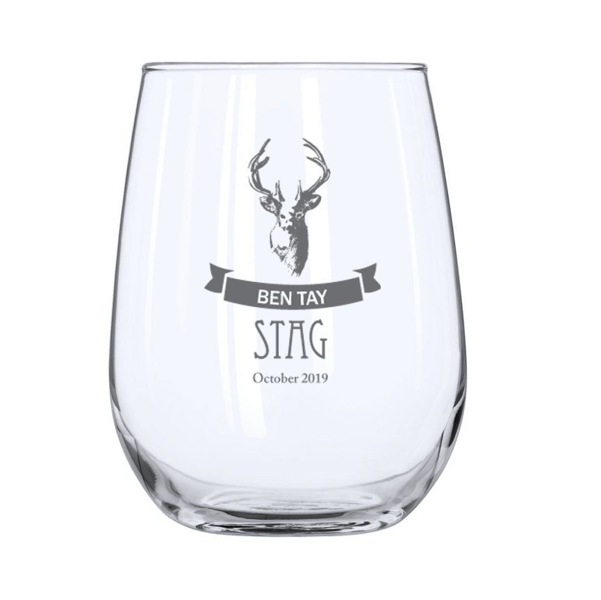 Stag Stemless Wine Glass