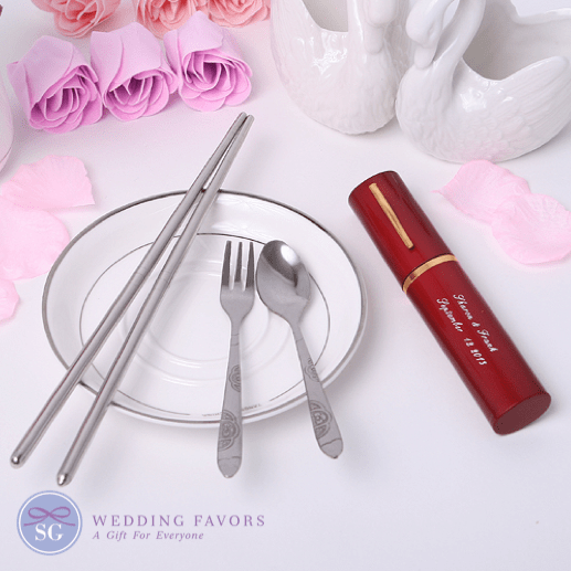 Stainless Steel Cutlery Set Favors