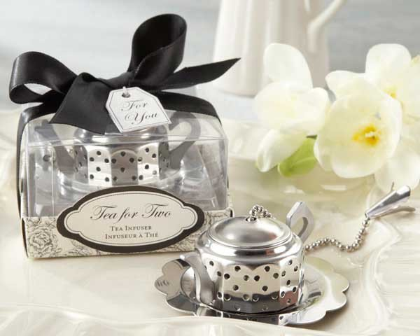 Tea for Two Infuser Favors