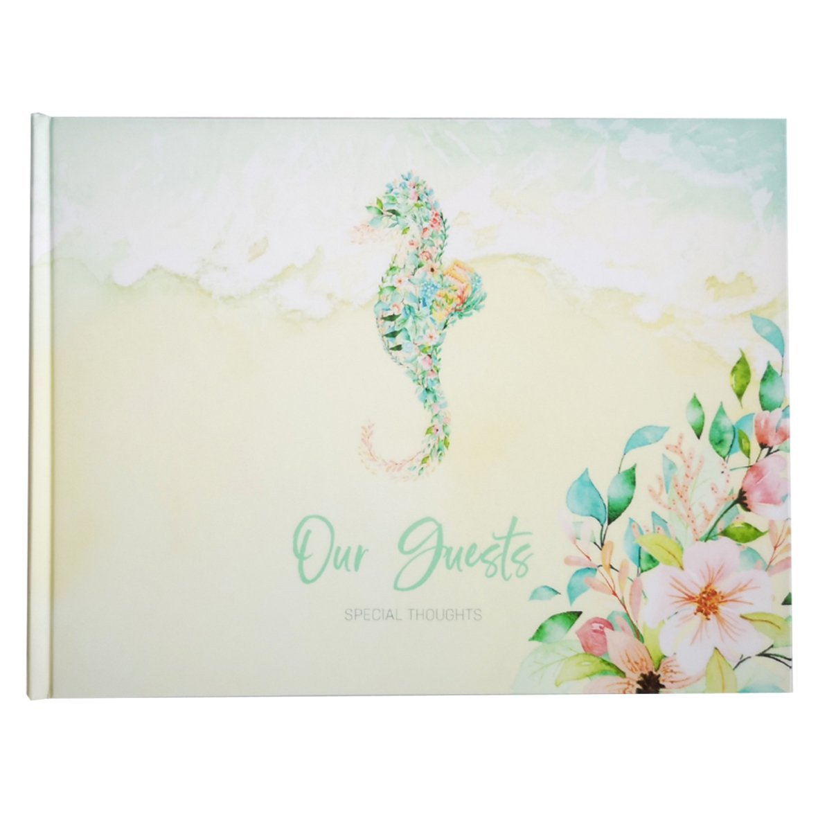 Tropical Summer Guest Book