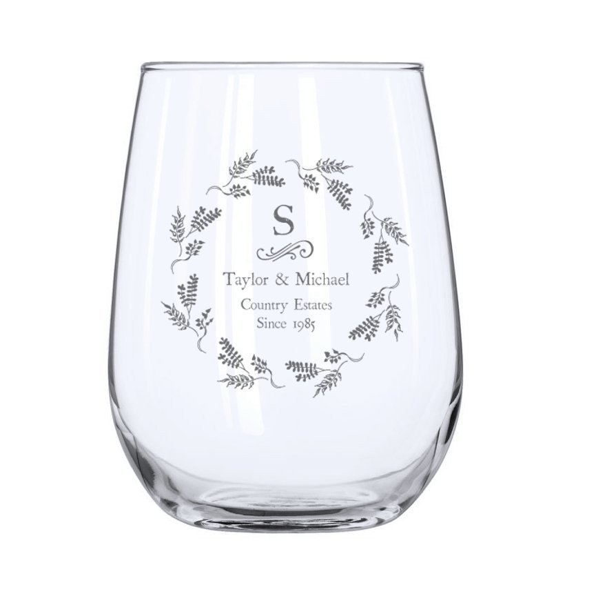 Vineyard Stemless Wine Glass