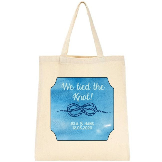 We Tied the Knot Tote Bag