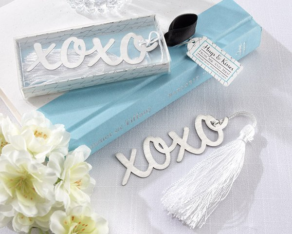 XOXO Bookmarks Favors