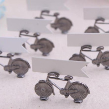 Vintage Bicycle Place Card Holder Favors